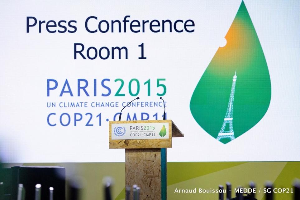 2015년 21차 유엔기후변화협약 당사국총회(COP21) 현장