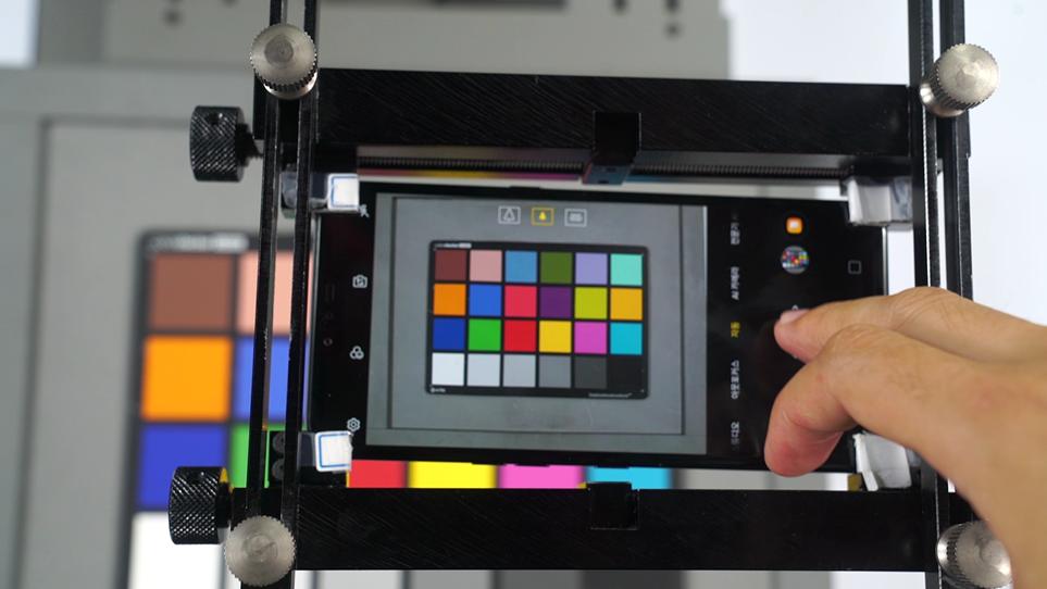 LG 스마트 카메라 테스트 모습