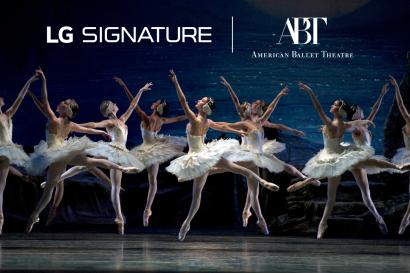 LG전자가 최근 美 아메리칸발레시어터(American Ballet Theater, ABT)와 파트너십을 체결하고 올해부터 향후 3년간 ABT를 공식 후원한다.