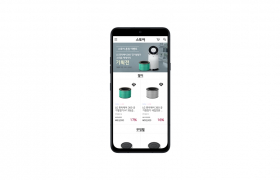 LG전자가 내달 1일부터 LG 씽큐 (LG ThinQ) 앱에 '스토어'를 선보인다. 사진은 씽큐 앱에서 가전제품의 소모품과 액세서리를 구매할 수 있는 스토어 모습