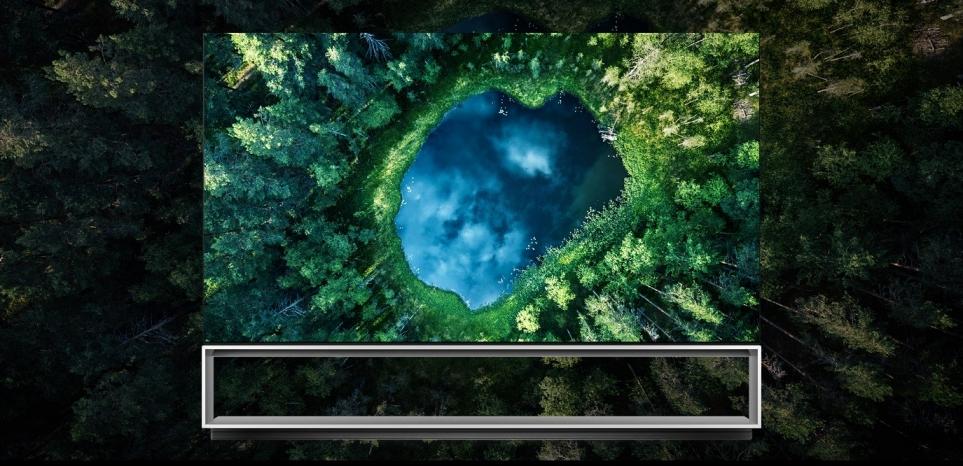 LG전자의 세계 최초 8K 올레드 TV 'LG 시그니처 올레드 8K'