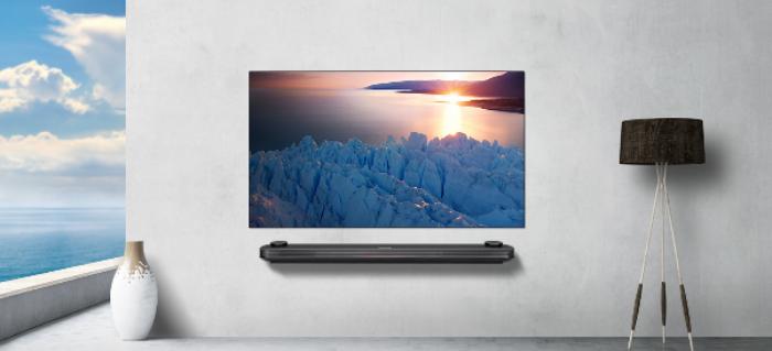 LG OLED TV 연출 모습