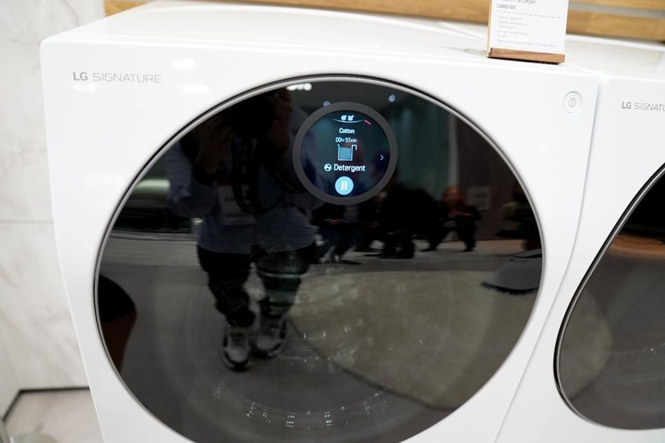 인공지능 DD모터를 적용한 LG전자 드럼세탁기