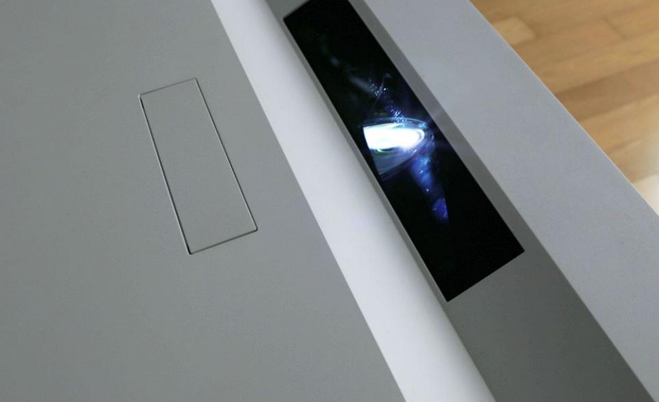 LG 시네빔 Laser 4K의 렌즈