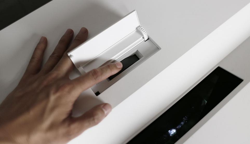 LG 시네빔 Laser 4K의 렌즈 포커스 조절링