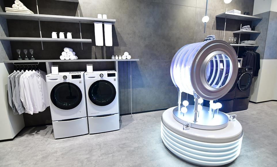인공지능 DD모터를 탑재한 LG 드럼세탁기