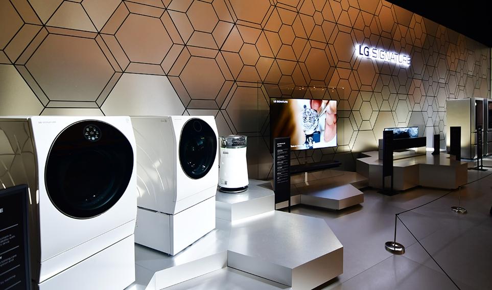IFA 2019에 조성한 LG SIGNATURE 부스