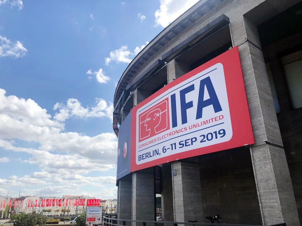 IFA 2019 전시장