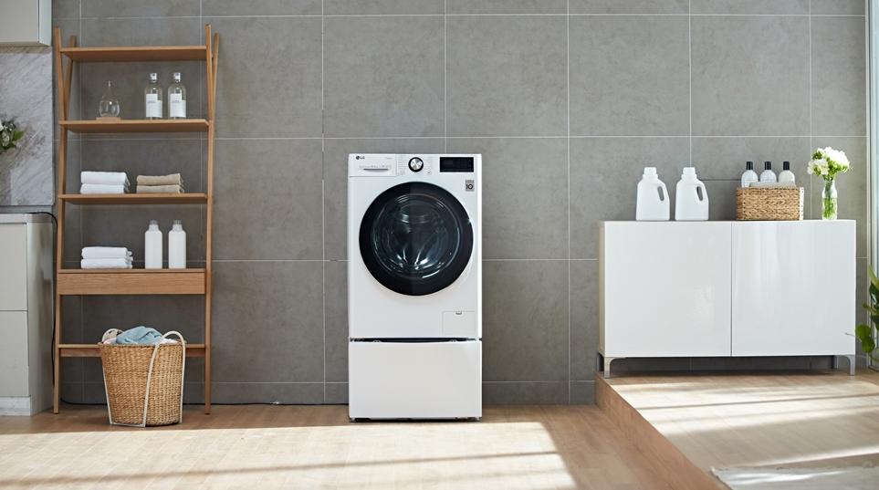 인공지능 DD모터 탑재한 LG 드럼세탁기