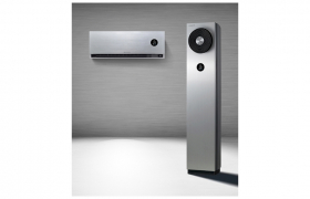 超프리미엄 'LG 시그니처(LG SIGNATURE) 에어컨'. 온도를 조절하는 냉방과 난방, 습도를 관리하는 가습과 제습, 실내공기를 깨끗하게 해주는 공기청정까지 모든 공기관리 기능을 갖춘 올인원 에어솔루션이다.