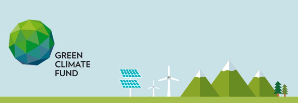 기획재정부 녹색기후기금(GCF) 소개 사이트 이미지