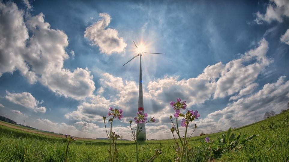 풍력 발전소 이미지