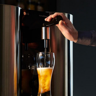 맥주 맛과 만드는 재미 다 잡은 LG 홈브루