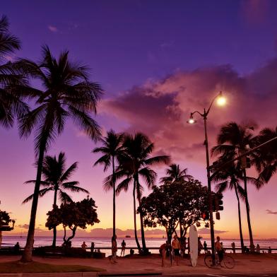 LG V50S로 촬영한 하와이 사진02 (F/2.4 , 1/80초 , ISO-400)