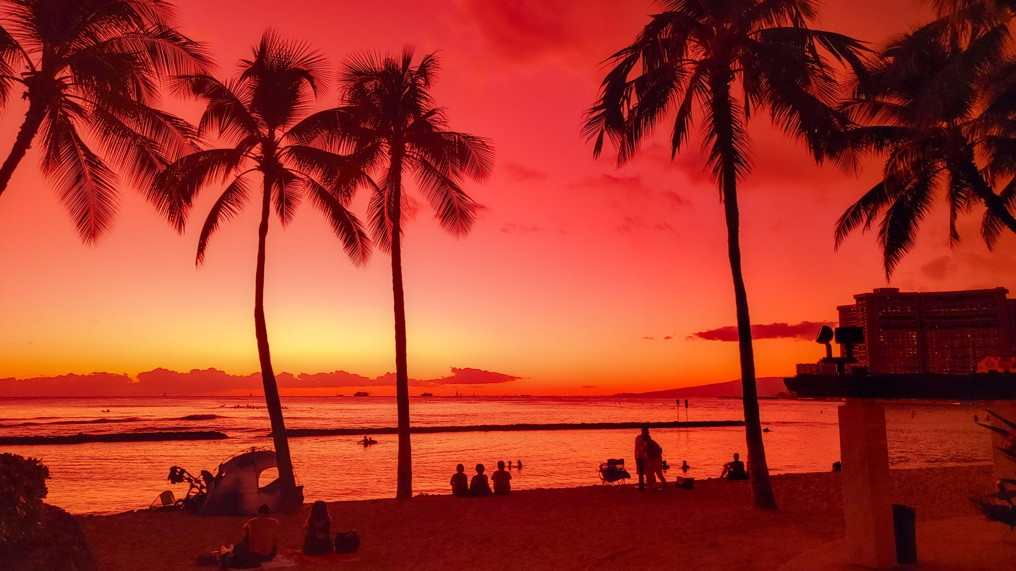 LG V50S로 촬영한 하와이 사진03 (F/1.8 , 1/43초, ISO-100)