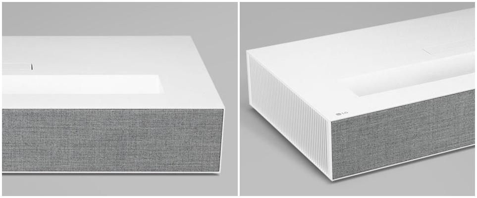 LG 시네빔 Laser 4K 패브릭 소재