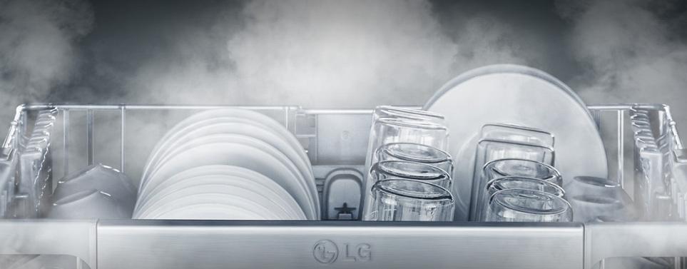 LG 디오스 식기세척기 100℃ 트루스팀 기술
