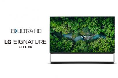 LG전자 '리얼 8K' TV, 美 소비자기술협회 '8K UHD' 인증 획득