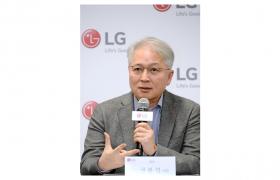 LG전자 CEO 권봉석 사장이 8일(현지시간) 美 라스베이거스에서 기자간담회를 열고 올해 LG전자의 전략 방향을 소개했다.