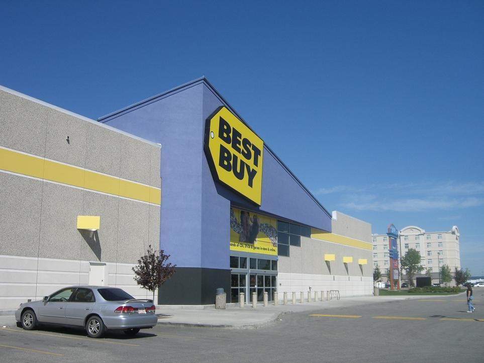 북미 최대 전자제품 유통업체 베스트 바이 전경