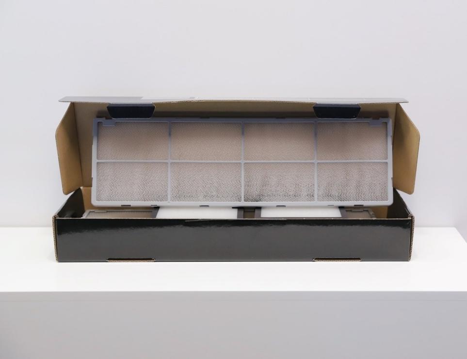 LG 휘센 씽큐 에어컨의 흡입구 전체 커버 필터 이미지