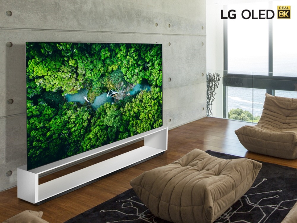 LG전자 올레드 8K의 이미지