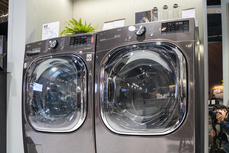 CES 2020에서 선보인 LG 트윈워시 세탁기 이미지 2
