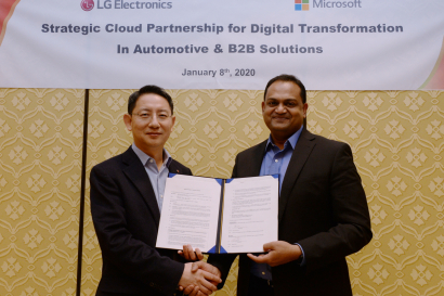 LG전자-마이크로소프트, B2B 사업 협력 강화