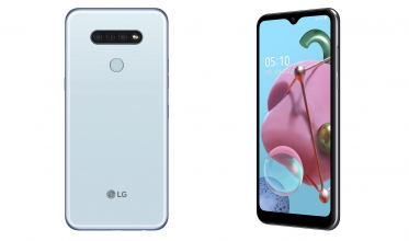 LG Q51 제품 사진