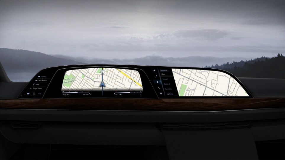 LG전자 전장부품솔루션(Vehicle Components Solution) 사업본부가 개발하는 차량용 콕핏 가상 이미지