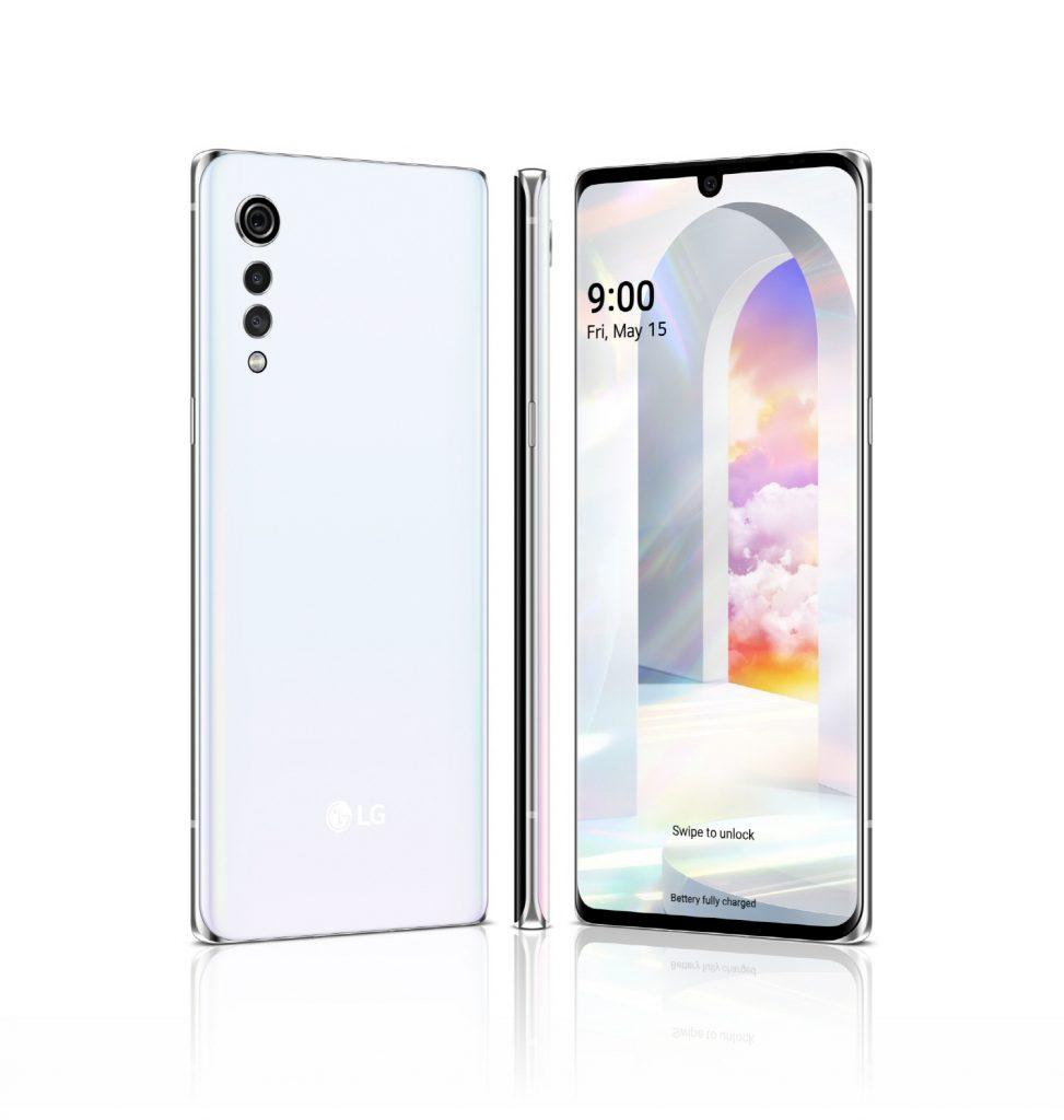 LG전자가 내달 15일 이동통신 3사와 자급제 채널 통해 국내시장에 출시 예정인 'LG 벨벳(LG VELVET)' 제품 이미지.