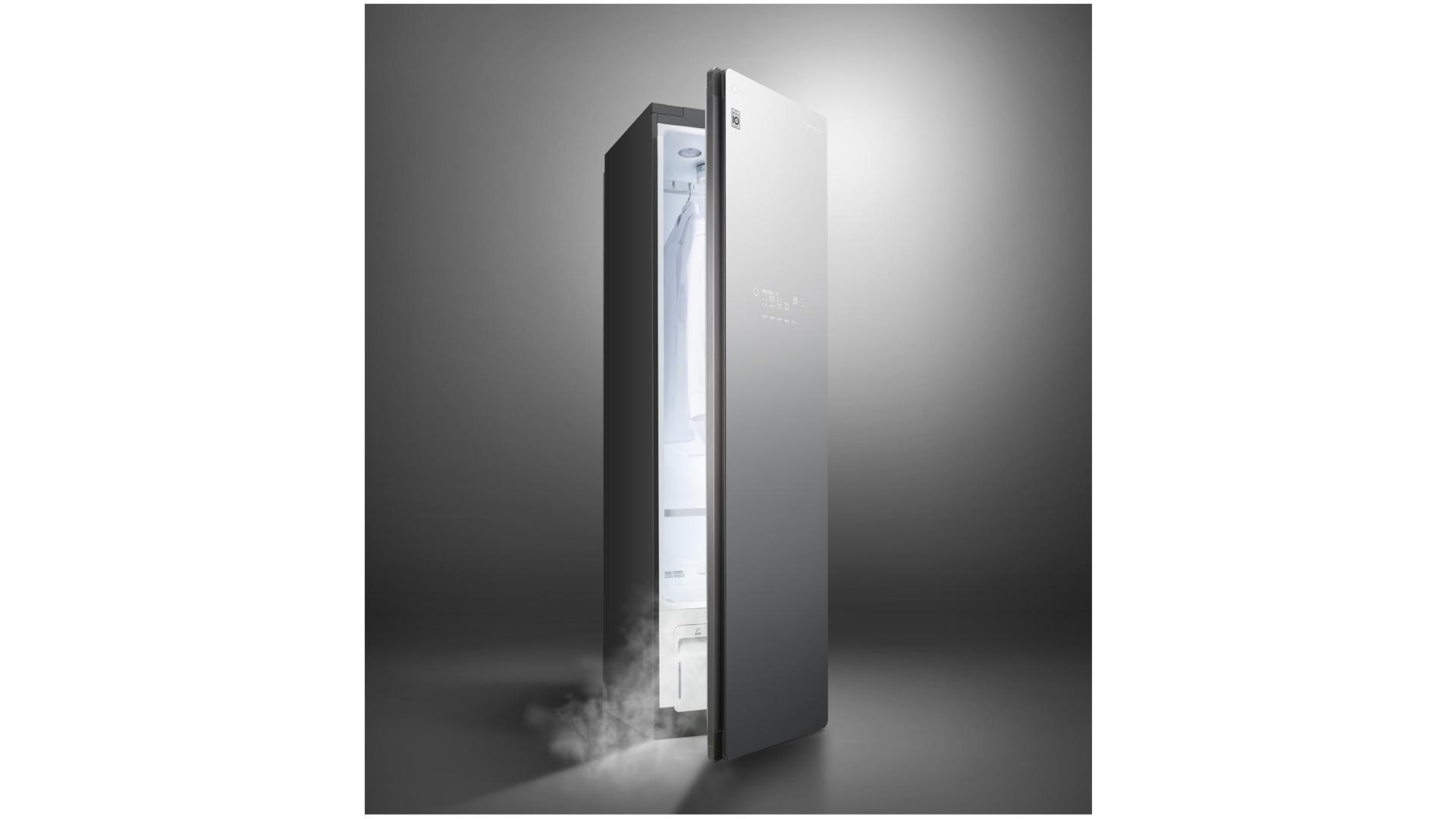 LG 트롬 스타일러의 온라인 광고