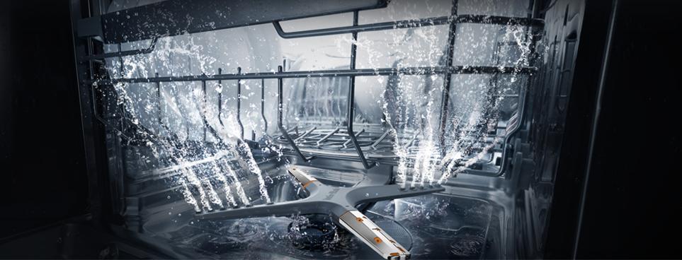 LG 디오스 식기세척기 토네이도 세척 날개 가상 이미지