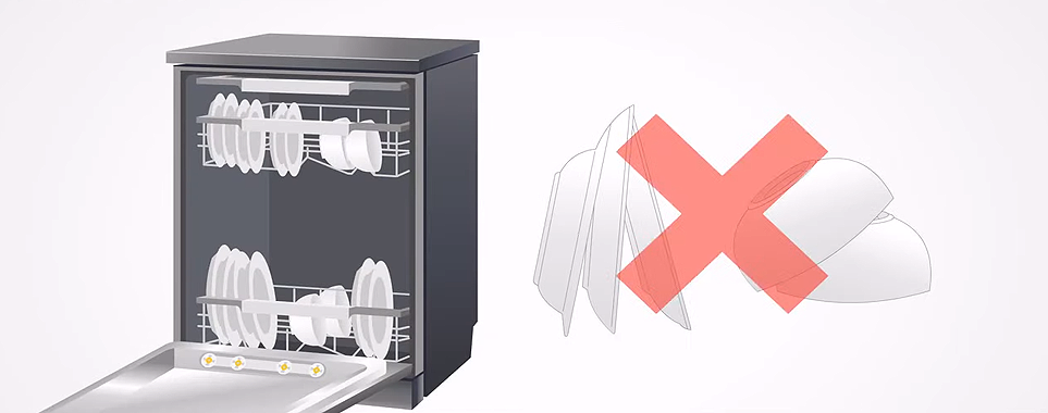 식기세척기 그릇 수납 방법