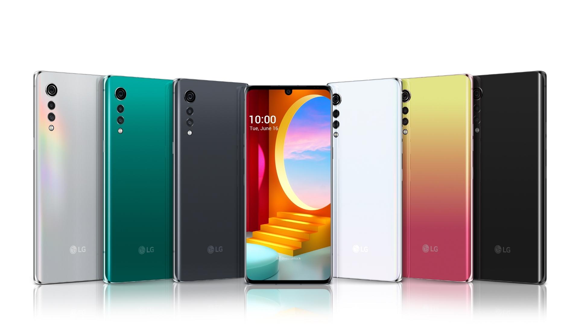 LG전자가 높은 편의성으로 호평받은 LG 벨벳(LG VELVET) UI(User Interface)를 LG 스마트폰의 다른 모델로 확대 적용한다. LG 벨벳 제품 사진.