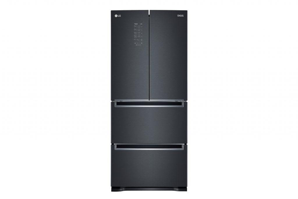 'LG 디오스 김치톡톡(모델명: K410MC19E)'의 제품 사진