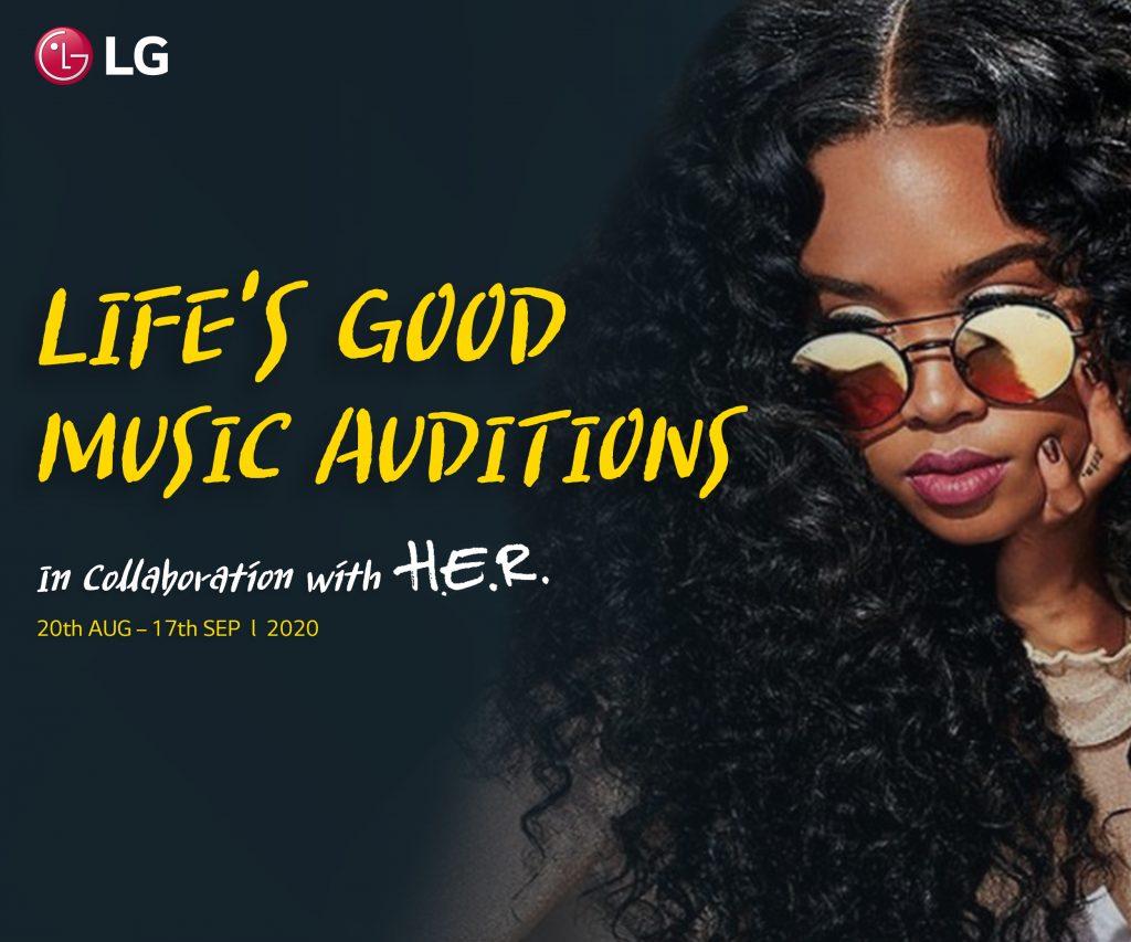 뮤지션 헐(H.E.R.)과 함께 'Life's Good' 뮤직 프로젝트 진행