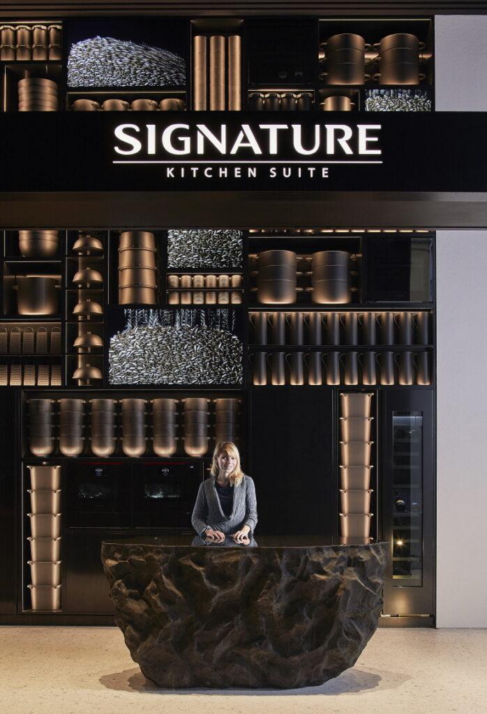 LG전자 초프리미엄 빌트인 시그니처 키친 스위트 밀라노 쇼룸 전경