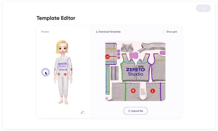 3D 아바타 제작 애플리케이션인 제페토(ZEPETO) 이미지