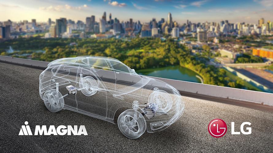 LG전자와 마그나가 전기차 사업에서 협력한다.