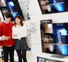 'LG 올레드 TV' 대세… 3분에 1대꼴 판매
