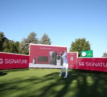메이저 골프대회 '에비앙 챔피언십' 빛낸 超프리미엄 'LG 시그니처'