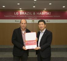 LG전자-해비타트, 브라질 빈민가 교육환경 개선한다
