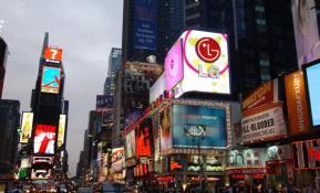 세계 곳곳에서 펄럭이는 LG 브랜드의 자긍심