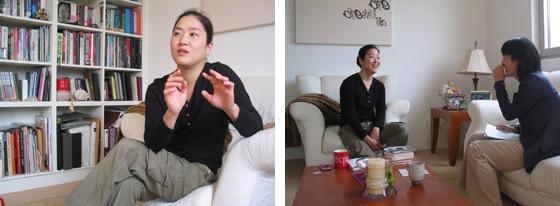 함연주 작가 인터뷰 사진