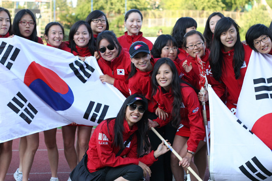 여자 라크로스 팀 사진