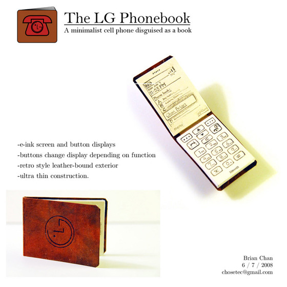 The LG Phonebook 사진