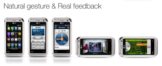 Natural gesture & Real feedback