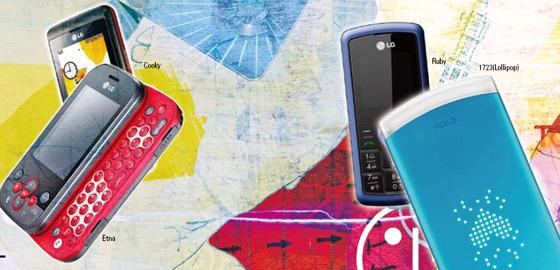 글로벌 시장에서 승승장구하고 있는 LG 휴대폰 이미지