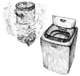 시인 강영은이 노래한 LG 세탁기 이미지